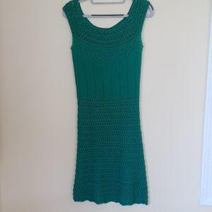 Beautiful Turquoise knit dress
